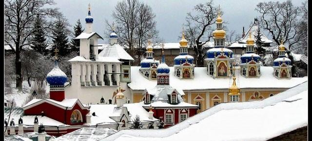 Великий канон святого Андрея Критского в Псково-Печерском монастыре 2 -7  марта