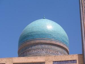 Бирюзовые купола
