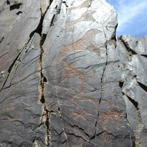 Сармыш. Наскальная живопись бронзового века