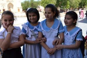 В  бухарской еврейской школе