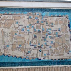 Карта Хивы