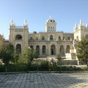 Дворец, построенный для имп. Николая 2 в Бухаре