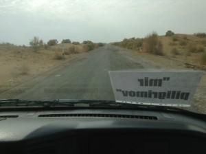 Едем по пустыне