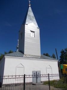 Медвежьегорск. Храм св. Илии Пророка - бывшая столовая для заключенных