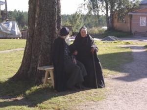 В Важеозерском монастыре