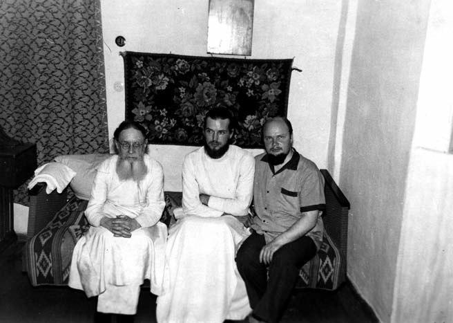 арх. Серафим Суторихин и о. Павел Адельгейм