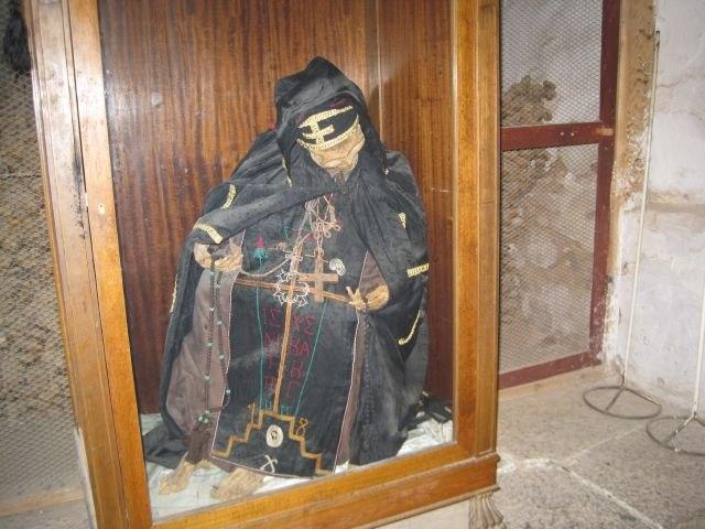 Строитель монастыря св. Екатерины ( мощи)