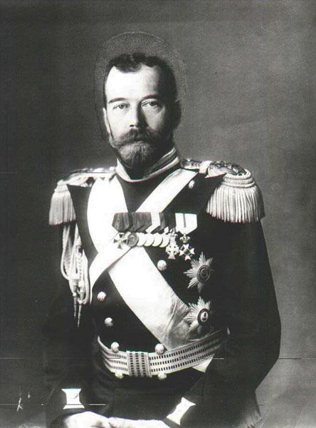 Редкая фотография императора Николая II