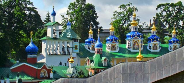 Светлое Христово Воскресение в Псково -Печерском монастыре