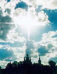 Крест над Санаксарским монастырем