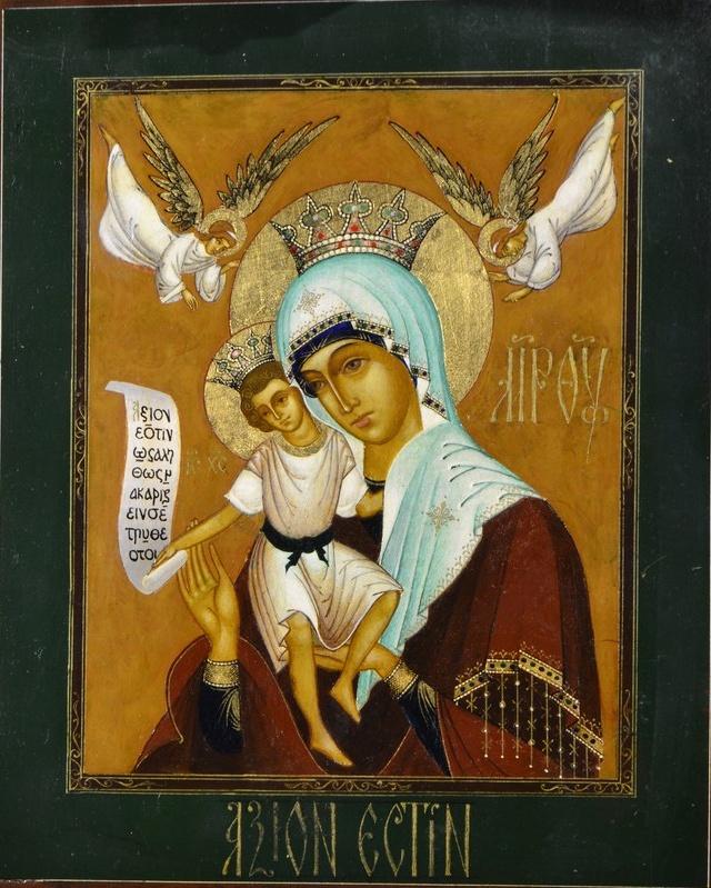 """Образ Божией Матери """"Достойно есть"""""""