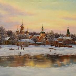 Новогодняя Божественная Литургия в Карелии