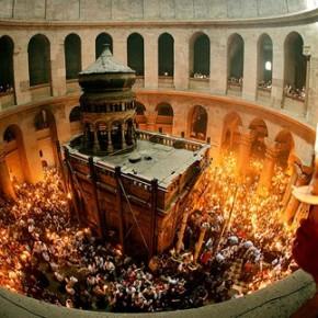 Светлое Христово Воскресение на Святой Земле
