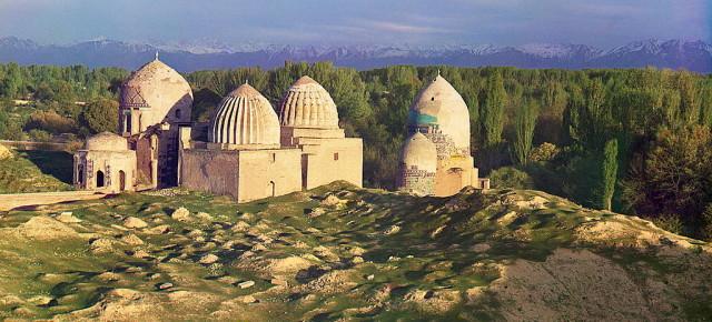 Древние города Великого Шелкового пути