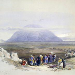 Дэвид Робертс Вид на гору Фавор