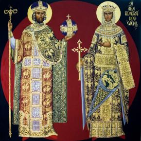 К святым равноапостольным Константину и Елене: Франция, Германия, Люксембург.