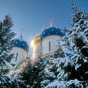 Рождество в Троице -Сергиевой Лавре