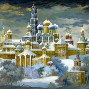 Рождество в Троице -Сергиевой Лавре и святыни Москвы
