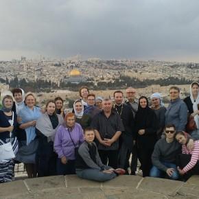 Паломничество на Святую 3емлю, программа  Русской  Духовной Миссии, ноябрь 2017