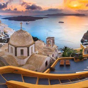 Крит и Санторин – жемчужины Средиземного моря