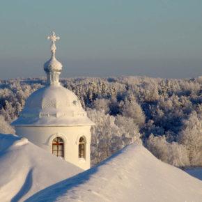На Крещение в монастыри Приладожья