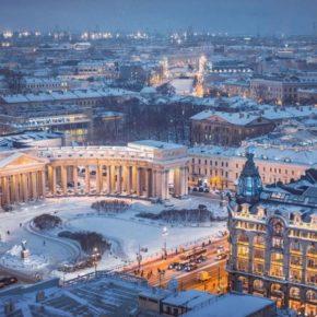 Новый год и Рождество Христово в Санкт-Петербурге!