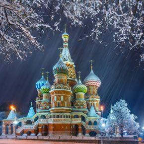 Рождество Христово в Москве и в Подмосковье  3 - 8 января