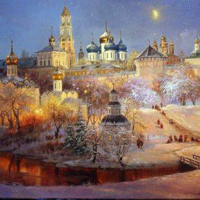 Московия. Троице-Сергиева Лавра и святые места Москвы   13 -16  марта